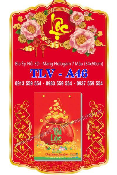 Bìa Lịch Đại 34x60 Phúc Lộc Phát